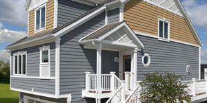 Акриловая обшивка дома