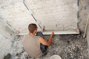 Сухие смеси для выравнивания стен