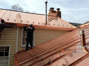 Капитальная металлическая крыша