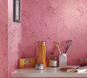Виды структурной краски для стен