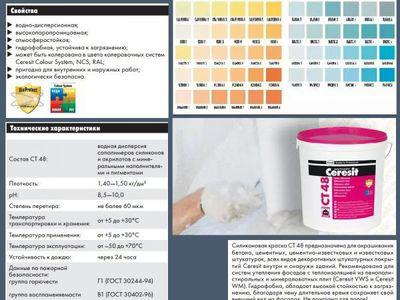 Вододисперсные краски