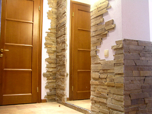 Дизайн отделанных стен