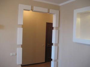 Как отделать дверной проем в доме