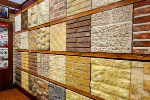 Оформление стен плитками