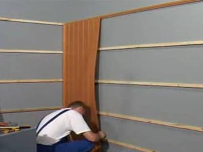 Как крепить вагонку пвх к стене