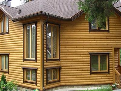 Использование блок-хауса для наружной отделки дома