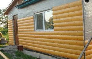 Преимущества деревянного блок-хауса