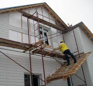 Ошибки вентилируемого фасада