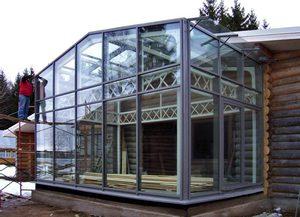 Алюминиевые светопрозрачные конструкции в частном доме
