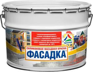 Применение фасадной краски