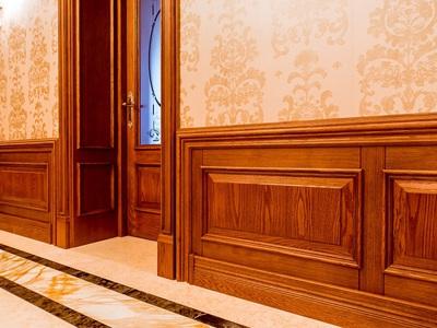 Деревянные декоративные панели для внутренней отделки стен