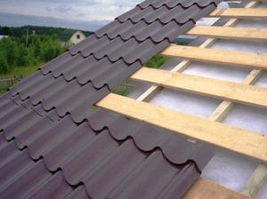 Гидроизоляция шатровой крыши