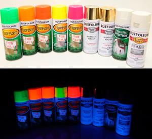 Как влияют на организм люминисцентные краски